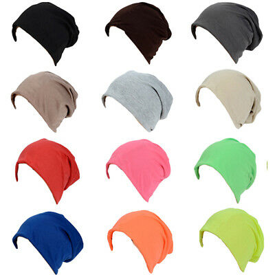 Men Women Unisex Slouch Beanie Hat High Quality Casual Oversized Cap Candy Color