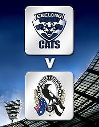 COLLINGWOOD v GEELONG *UNBELIEVABLE LEVEL1 FOOTBALL TICKETS MCG 100%FEEDBACK AFL