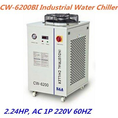 S&A CW-6200BI Industrial Water Chiller (2.24HP, AC 1P 220V 60HZ )