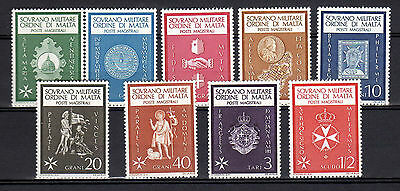 SMOM 1966 Year Complete MNH