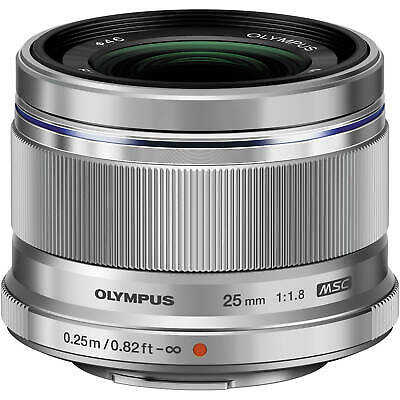 Olympus M.Zuiko Digital 25mm f/1.8 Lens (Silver) - AUTHORIZED DEALER