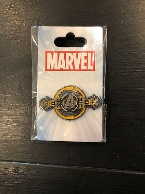 Disney Pin Avengers Hatch Logo Marvel Limited Release Guardians Mission Breakout