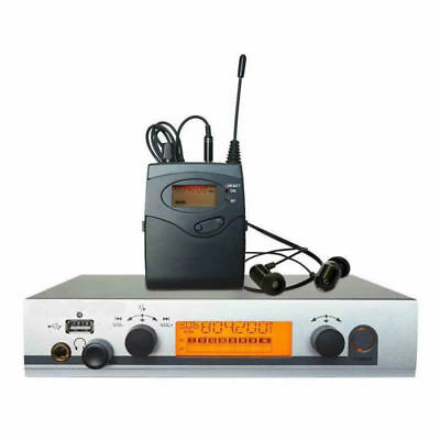 UHF Wireless In ear Monitor System Monitoring Headphones for Stage Performance