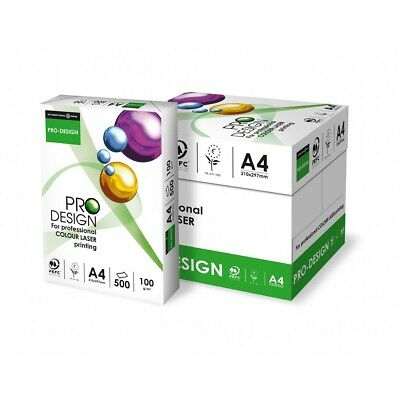 A5, A4, A3 PRO DESIGN SMOOTH WHITE PAPER / CARD 100gsm 120gsm 160gsm 250gsm