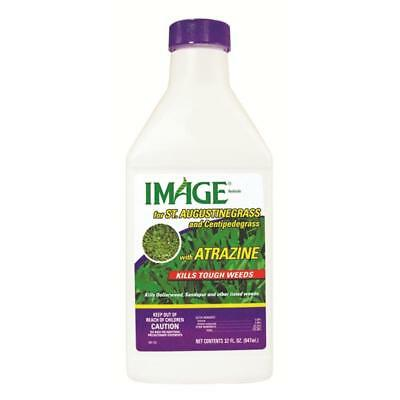 New IMAGE St Augustine Atrazine 32 Oz Lawn Weed Killer Liquid Concentrate