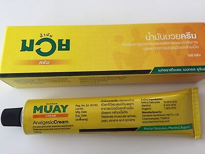 Namman Muay/Thai Boxing Cream Muscular Pain Relief 100g