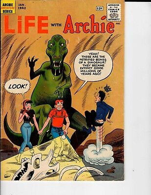 Archie Adventure Series Life with Archie #12 January 1962 VG/Fine