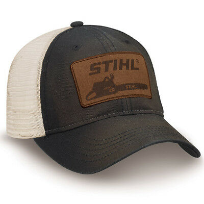 d77e815cc OFFICIALLY LICENSED STIHL Washed Black Twill and Mesh Cap - $21.95 ...