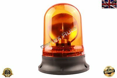 24V Amber Strobe Beacon Flashing Light Lamp for Car Van Truck (E Certified)