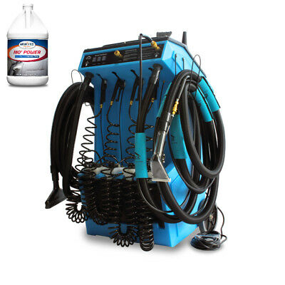 Mytee 20-110 Deluxe Prep Center™ W/ Heat and Two Cases Carpet Extractor Cleaner