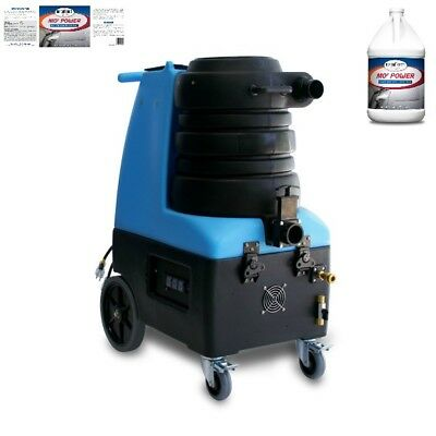 Mytee BZ-104 Breeze Carpet Extractor and Two Cases of Carpet Extractor Cleaner