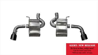 Corsa Performance 14787BLK Sport Axle Back System Exhaust System Kit