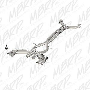 MBRP Exhaust S7032409 Street Series Cat Back System Exhaust System Kit