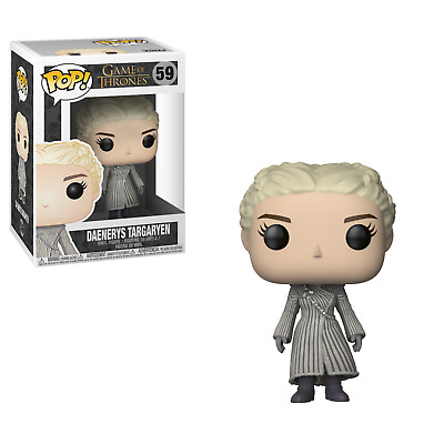 Funko Pop! Game of Thrones 59 Daenerys Targaryen White Coat Pop Vinyl Figure