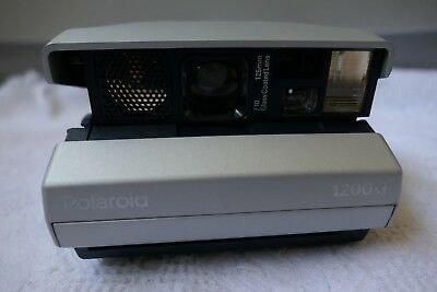 Polaroid 1200si Spectra Film Instant Camera Made in UK Fully Operational