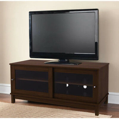 Monarch Specialities Tv Stand 60l Warm Cherry Drawers Glass