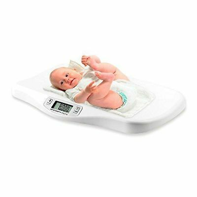 AFENDO Electronic Digital Smoothing Infant   Baby and Toddler Scale -White