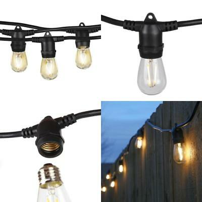 Brightech Ambience Pro LED Commercial Grade Outdoor Light Strand with Non Hangin