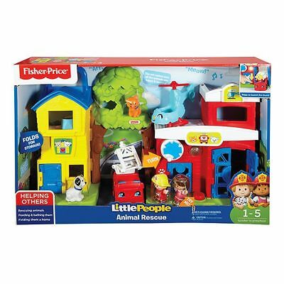 NEW Fisher-Price Little People Animal Rescue playset Helps develop: