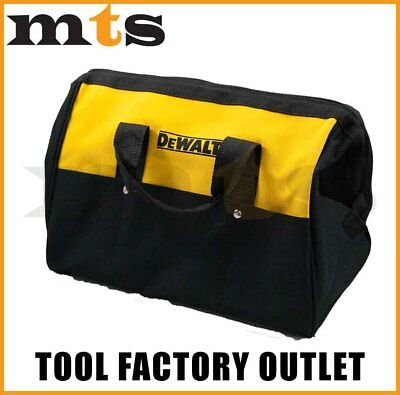 """Dewalt Heavy Duty Nylon 15"""" Tool Bag With Runners On Underside For Protection"""