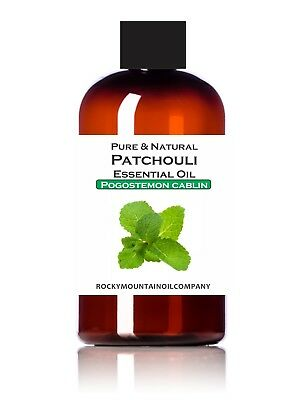 100% PURE & NATURAL PATCHOULI DARK ESSENTIAL OIL THERAPEUTIC GRADE 1 2 4 16 oz