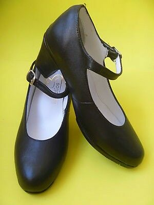 Dance Shoes Mexican Folk Dance And Flamenco Black