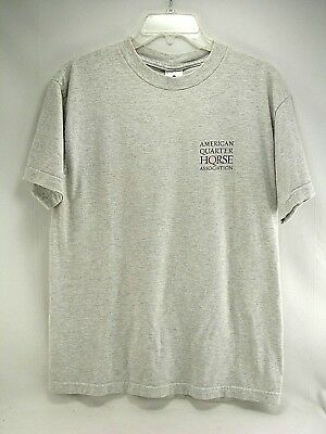 AQHA American Quarter Horse Association  T shirt Grey Women's Medium