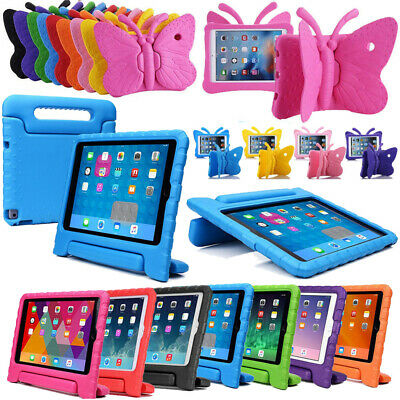 "New For iPad 9.7"" 2018/17 Kids Gifts Safty EVA Foam Handle Shockproof Case Cover"