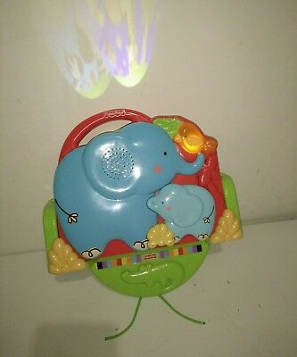 Fisher Price Luv U Zoo Crib & Go Projector Soother, 2 in 1 Take Along Projector