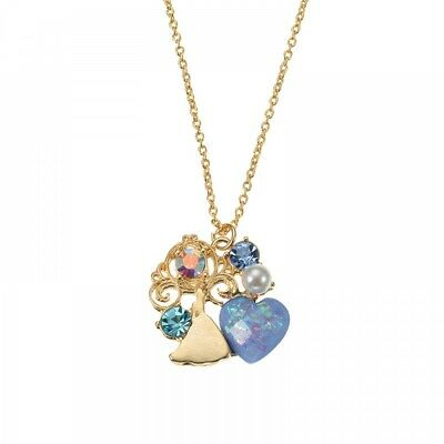 New Disney Store Japan Necklace Cinderella Hologram From Japan F/S
