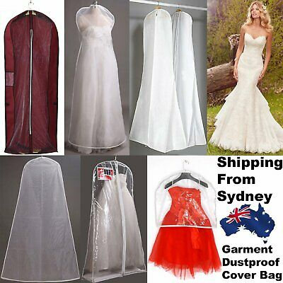 1X Large Garment Cover Bag Dustproof Clothes Suit Coat Wedding Dress Protector