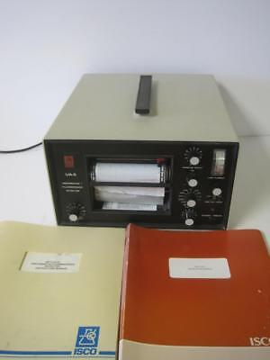 Isco Ua-5 Absorbance  Fluorescence Detector W/ Instruction Manual Used Rare