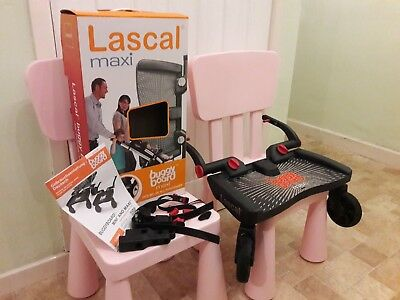 Lascal buggy board maxi with uncut connectors.