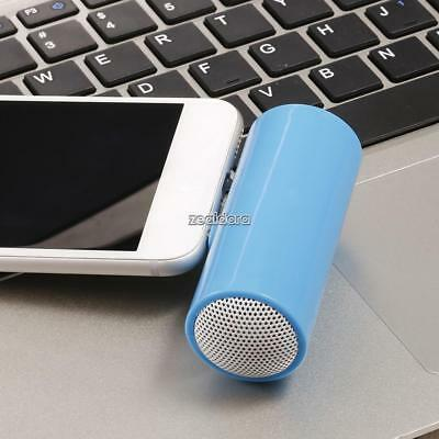 Portable Stereo Speakers Mini 3.5mm Jack Plug In For Phone Laptop Tablet MP3 F