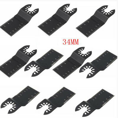 1pc Universal 34mm Carbon Steel Multi Tool DIY Oscillating Saw Blade Cutter BE