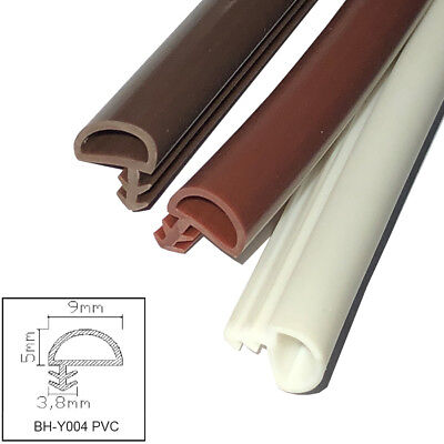 Home Door Seals Sealing Strips Rubber Frame Protect Gasket Draught Excluder Y004