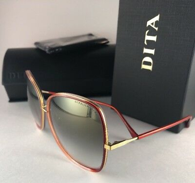 61991665a4a0 New DITA Sunglasses BLUEBIRD TWO 21011-C-RED-GLD-65 Red Gold