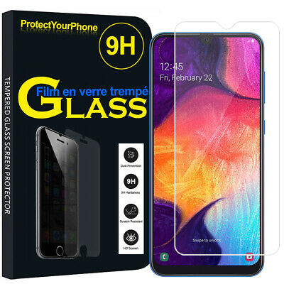 Vitre De Protection Transparent Écran Film Verre Trempe Model Samsung Galaxy A