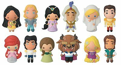 Key Chain - 3D PVC Foam Collectible - Disney Series 14 - Romance New 86120