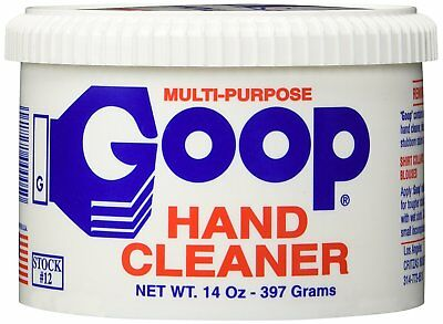 Heavy duty hand cleaner Stain Remover GOOP - 14oz - Laundry Stain Lifter - NEW