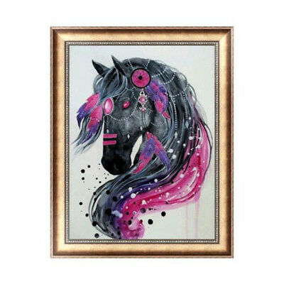 Horse 5D DIY Diamond Painting Embroidery Cross Craft Stitch Home Wall Decor Art