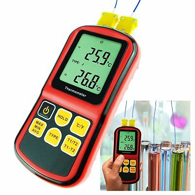 Thermoelement K / J / T / E / R / S / N Thermometer -150~1767°C ATC LCD Anzeige