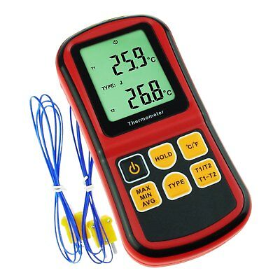 Thermometer Thermocouple K / J / T / E / R / S / N Type -238~ 3212°F Temperature