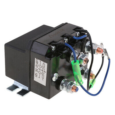 200A Winch Motor Reversing Solenoid Relay Switch DC 12V Contactor Controller