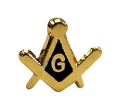 Square and Compass with G small Masonic Lapel Pin LP05