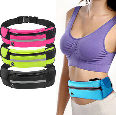 Outdoor Sport Running Men Lady Women Yoga Gym Fitness Waist Belly Bag for Iphone