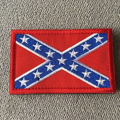 The Southern Alliance Civil War Embroidery Tactical Morale Hook Loop Patch Badge