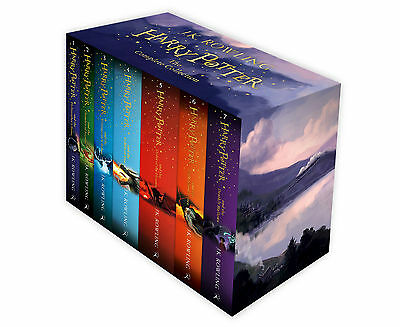Harry Potter Box Set The Complete Collection Children's Paperback 9781408856772