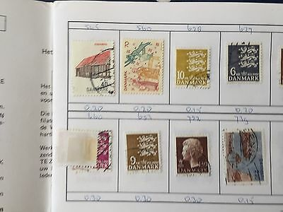Club approval booklet with Denmark Finland & Belgium of stamps