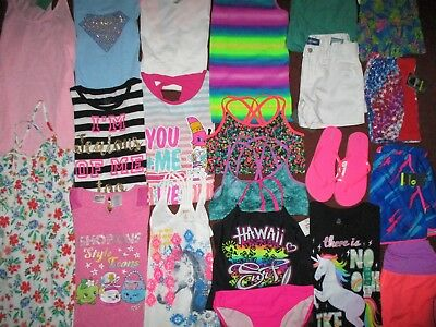NWT'S Girls Size 14 SUMMER Name Brand Lot Clothes & Outfits Wardrobe NEW!!